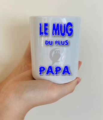 Mug du plus chouette papa
