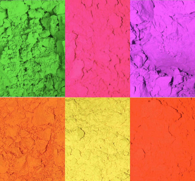 Neon Pigments Bundle (Stalk of 6)