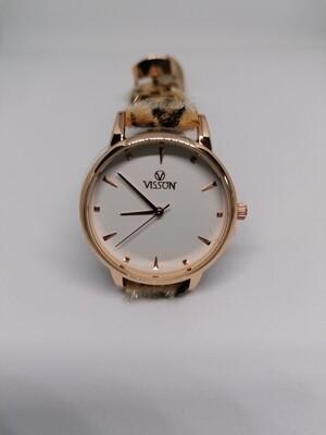 Horloge leopard - LEA