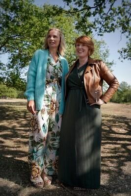 Knitwear - SARINA - vest turquoise