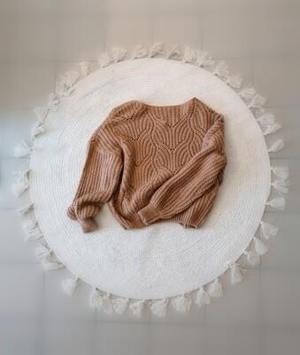Knitwear - MAXX - donkerbeige