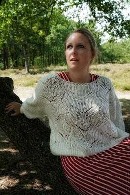 Knitwear - MAXX - wit