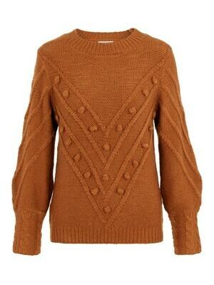 Knitwear - KULLA - roest