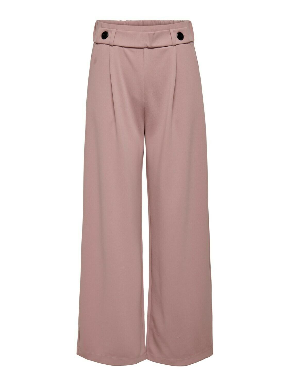 Wijde lange broek - GEGGO - roze //                       Dé broek :-)
