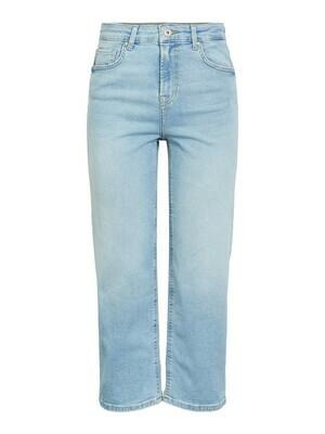 Wijde jeans - ALUA - light denim (enkelbroek)