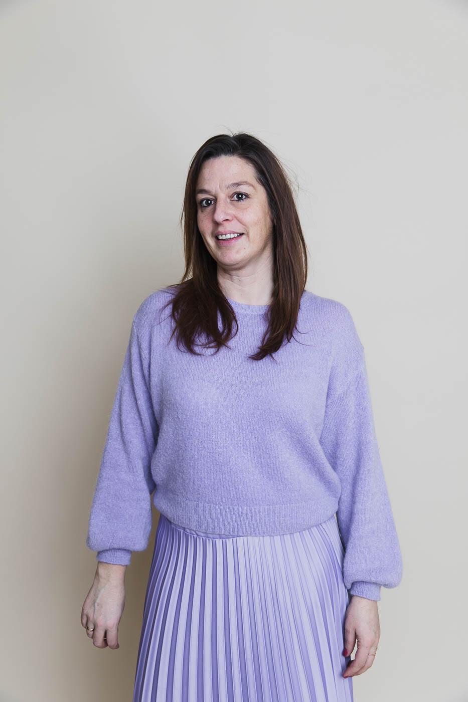 Knitwear - MARJOLEIN - lila