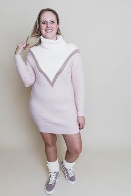 Korte jurk - ANOUK - babyroze