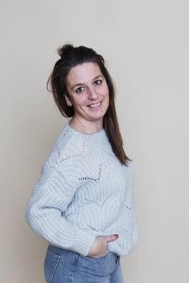 Knitwear - MAXX - babyblauw