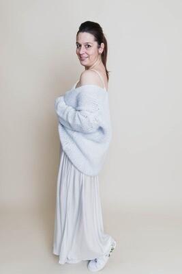 Knitwear - MYRIAM - babyblauw