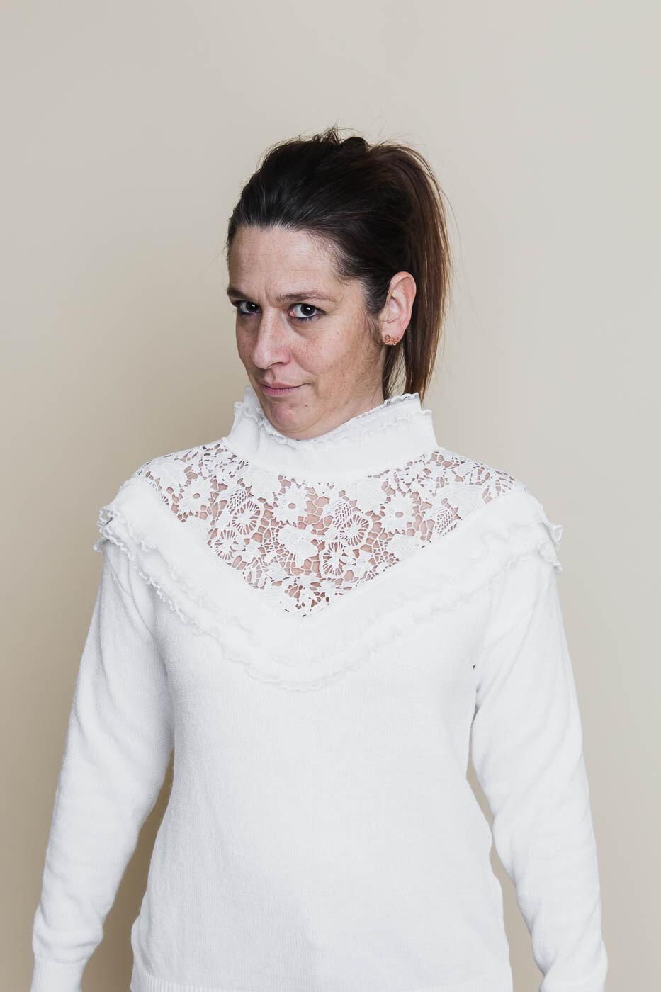 Knitwear - TARJA - wit