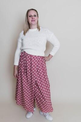 Knitwear - LEILA - witte korte trui