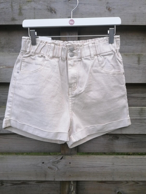 Short - jeansshort lichtbeige
