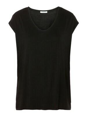 T-shirt met korte mouwen - basic - zwart