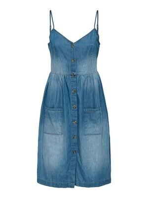 Korte jeansjurk - SAINT - medium blue