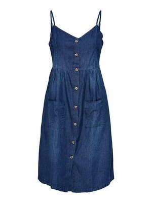 Korte jeansjurk - SAINT - indigo blue