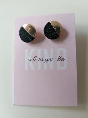 Oorbellen stekertjes - always be kind