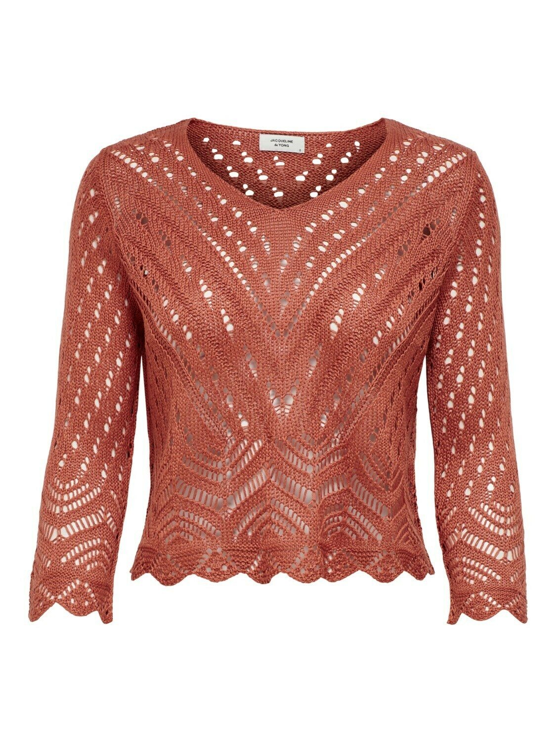 Trui - cropped pullover - zomerroest