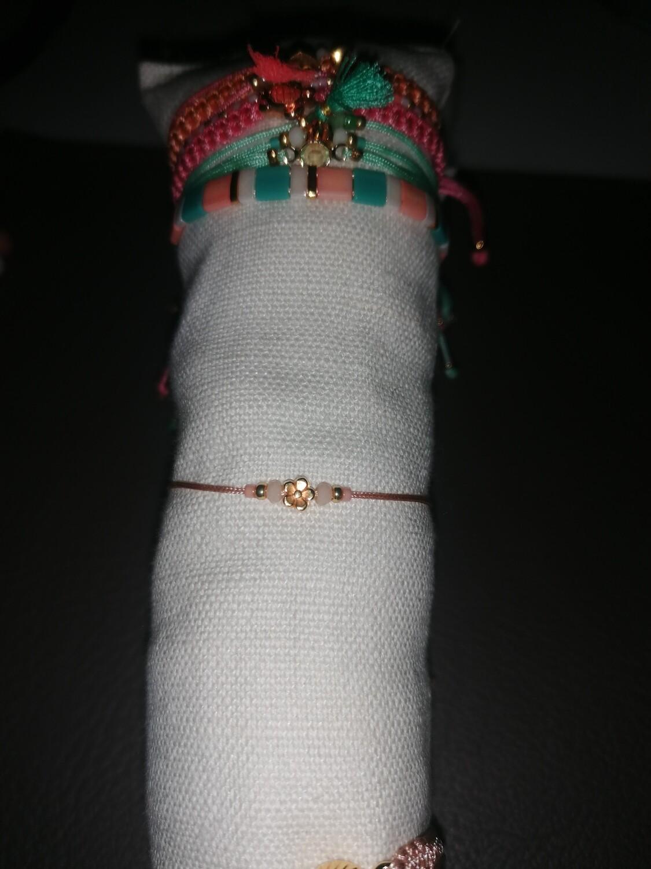 Armband voor kinderen - YARA - peach