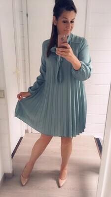 Korte jurk - MIRA  - muntgroen