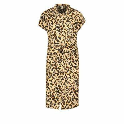 Korte jurk - NYA - leopard