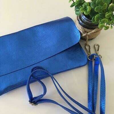 Handtas - TINA - koningsblauw