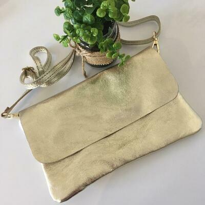 Handtas - TINA - goud