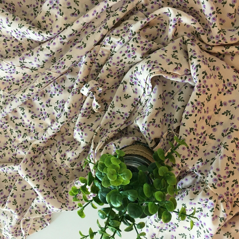 Midi jurk - ALLISON - groen/lila/fuchsia