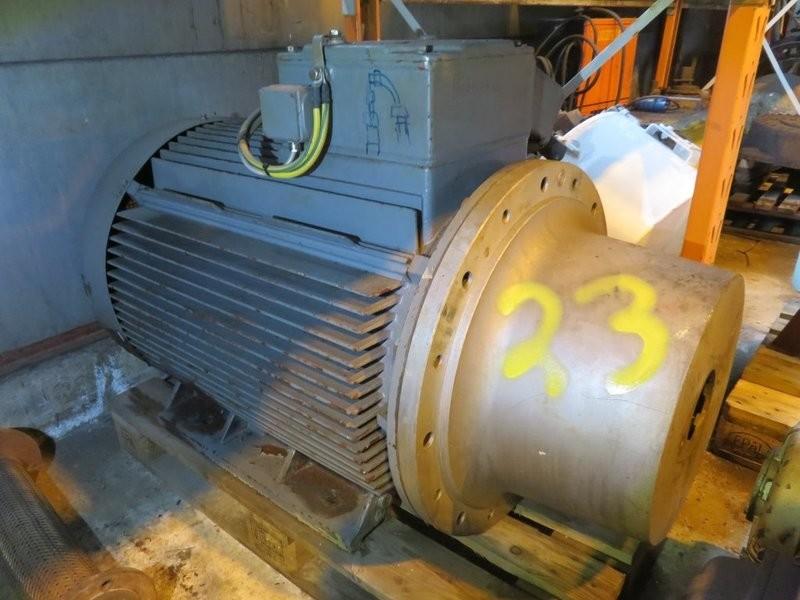 23. El motorer - Simens 132kw 1480o/m