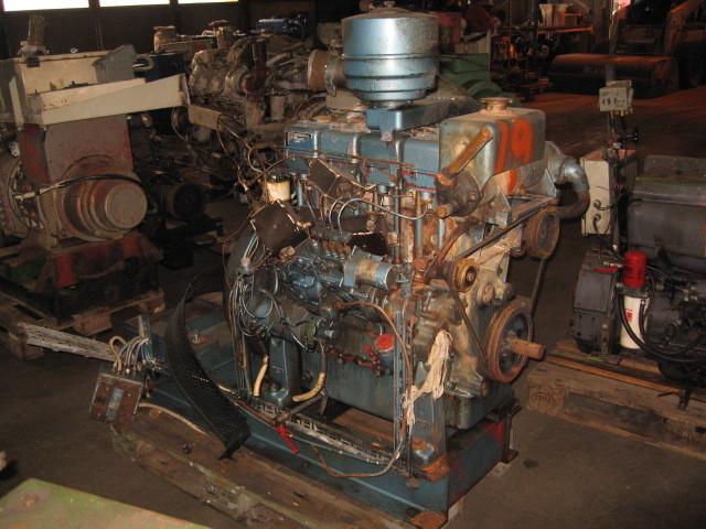 19. Motor og Generator sett - LISTER 4cyl, Engine only
