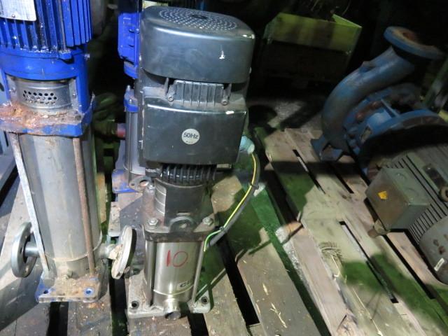 10. Pumpe, Brann-Lense-Spyle - Grundfoss CRN