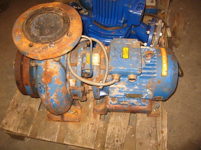 34. Pumpe, Brann-Lense-Spyle - Pumpe teknik typ:AH100/20