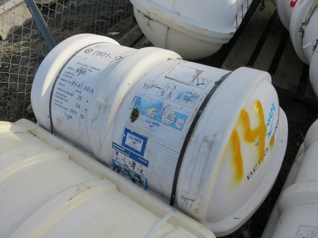 14. Redningsflåter - Sea safe 6pers -2007