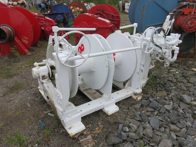 8. Winsjer - Trommel  2stk 40x83cm, ca 8-10tonn