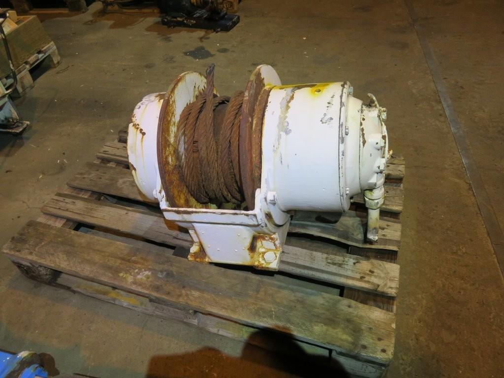 10. Winsjer - ca 3-6 tonn fra større davidt.