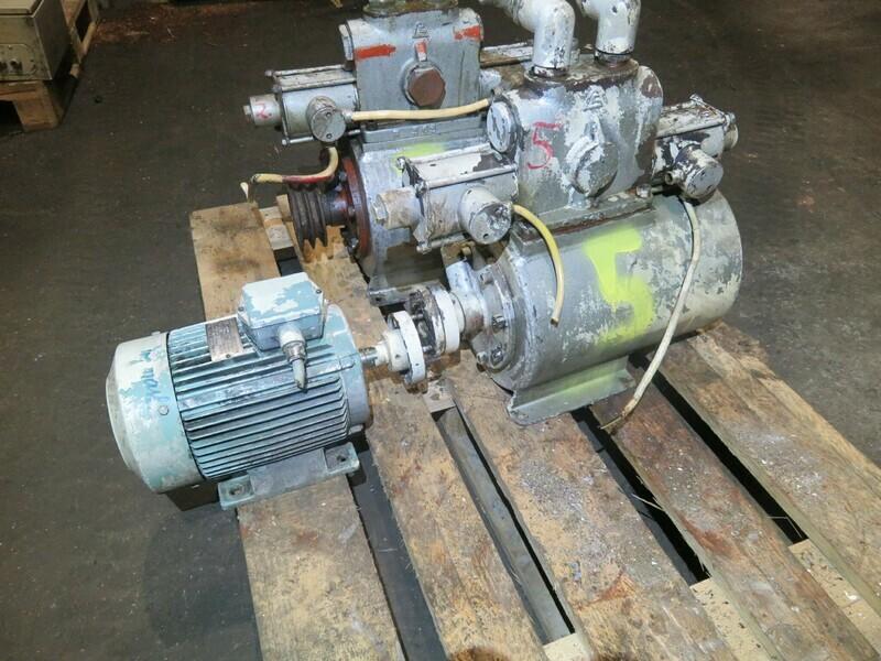 5. Styremaskiner pumper - Tennfjord H-415