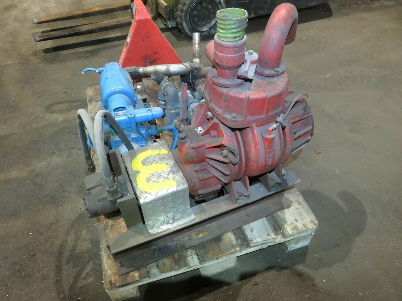 "3. Hydraulsk drevet  Vakum pumpe  2,5"" /2,5"""