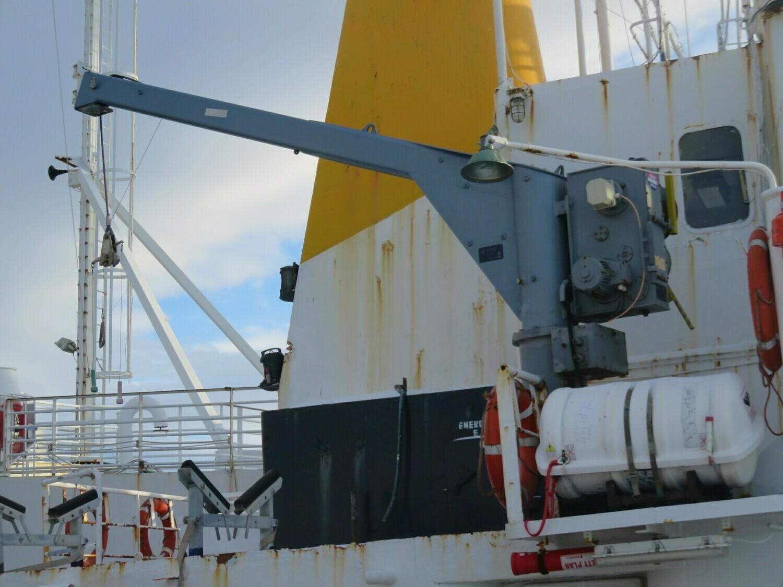 1. Mobåt kraner -Ned-Deck marine                                Havgløtt