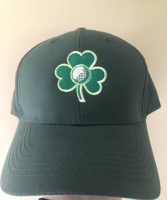 Green Shamrock Cap