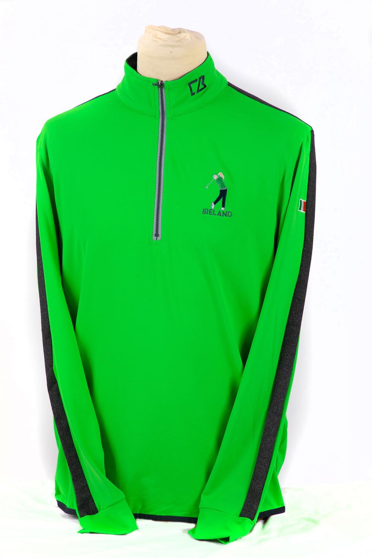 Ireland 1/4 zip Sweater