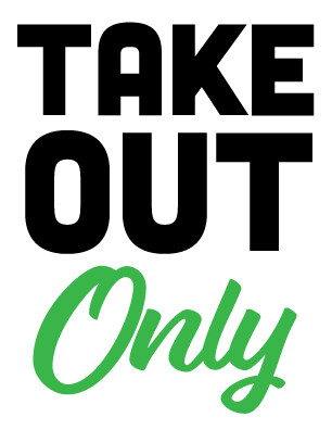 Take Out Green  Sign
