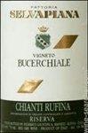Fattoria Selvapiana Bucerchiale Riserva, Chianti Rufina 2015 (750 ml)
