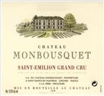 Chateau Monbousquet, Saint-Emilion Grand Cru 2015 (750 ml)