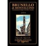 Canalicchio di Sopra Brunello di Montalcino 2004 (3 Liter)