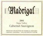 Madrigal Cabernet Sauvignon, Napa Valley 2012 (750 ml)