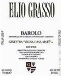 Elio Grasso Ginestra Vigna Casa Mate, Barolo 2015 (750 ml)
