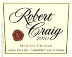 Robert Craig Winery Mount Veeder Cabernet Sauvignon 2014 (750 ml)