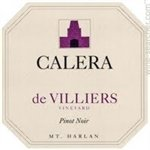 Calera de Villiers Vineyard Pinot Noir, Mount Harlan 2017 (750 ml)