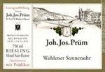 Joh. Jos. Prum Wehlener Sonnenuhr Riesling Kabinett, Mosel 2018 (750 ml)