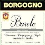 Giacomo Borgogno & Figli Barolo Riserva DOCG, Piedmont 1967 (750 ml)