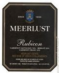 Meerlust Rubicon, Stellenbosch 2015 (750 ml)